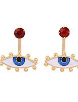 Boucles d'oreille gitane Cristal Original Mode Bleu Bijoux Pour Mariage Soirée Anniversaire 1 paire