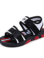 Boys' Sandals Spring Summer Fall Comfort Fabric Casual Flat Heel Green Red Black