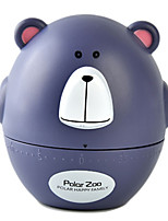 Cute Cartoon Little Bear Mechanical Kitchen Timer