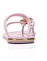Women's Sandals Spring Comfort PU Casual Light Pink Black White