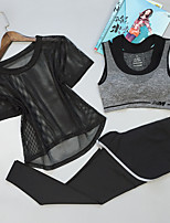 Femme Course / Running Confortable Printemps Eté Sport de détente Chinlon Mince Athleisure