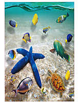 Wall Stickers Wall Decals Style Underwater World PVC Wall Stickers