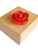 Music Box Square Holiday Supplies Wood Resin Unisex