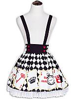Rock Niedlich Lolita Cosplay Lolita Kleider Modisch Lolita Kurz / Mini Rock Für