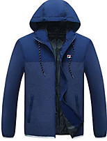 Men's Running Windproof Spring Summer Sports Wear Leisure Sports Nylon Slim Black Gray Sky Blue Red Head
