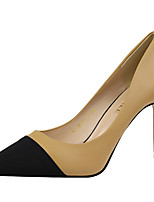 Heels Spring Summer Fall Comfort PU Office & Career Dress Stiletto Heel