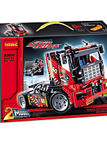 Truck Toys Car Toys ABS Red Model & Building Toy