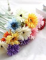 10 Une succursale Soie Marguerites Fleur de Table Fleurs artificielles