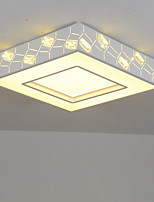 Flush Mount Modern/Contemporary for LED Metal Living Room Bedroom Dining Room Kitchen