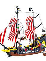 Bloques de Construcción Para regalo Bloques de Construcción Hobbies de Tiempo Libre Barco ABS 5 a 7 años 8 a 13 años 14 años y Más