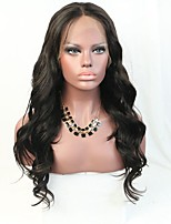 Illusion Hairline Big wave Lace Front Wig Brazilian Virgin Hair