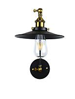 YY ac220v-240V 4W E27 אור הוביל אור swall הוביל קיר פמוטים מנורת קיר ברזל קיר מנורה חרב אור שחור מטומטם על אירופה הקיר ואת ארצות הברית