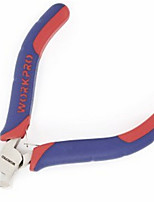 Wan Bao Red And Blue Color Sleeve Handle Mini Top Cutting Pliers