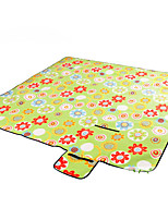 Picnic Pad Heat Insulation Moistureproof/Moisture Permeability Hiking Camping Traveling Outdoor Indoor Flannel
