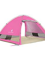 3-4 personnes Tente Unique Tente automatique Une pièce Tente de camping 1500-2000 mm Fibre de carboneRésistant à l'humidité Etanche