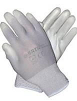 9 pu sata gris gants revêtus de palmier protection industrielle / 1