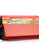 XUYUAN 3000W Vehicle Mounted Solar Power Inverter - RED