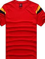 Homme Football Maillot + Short/Maillot+Cuissard Respirable Eté Classique Polyester Football