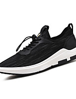 Men's Sneakers Spring Summer Comfort Tulle Outdoor Athletic Casual Flat Heel Gore Gray Black Hiking