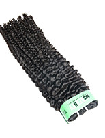 1 Bundle/Lot 5A Peruvian Kinky Curly Hair Weaves Unprocessed Human Hair