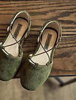 -Девочки-Повседневный-Полиуретан-На плоской подошве-Удобная обувь-На плокой подошве