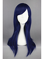 Clannad-Ichinose Kotomi Dark Blue Straight Anime 24inch Cosplay Wig CS-163B