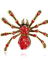 Dámské Dívky Brože Zvířecí Módní Euramerican Štras Slitina Animal Shape Šperky Pro Svatební Párty Zvláštní příležitosti Denní