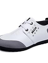 Мужской спортивные туфли весна мокасины комфорт кожа casual