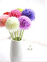 5 Branch Silk Hydrangeas Tabletop Flower Artificial Flowers