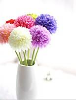 5 Une succursale Soie Hortensias Fleur de Table Fleurs artificielles