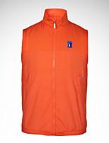 Homme Manches courtes Golf Gilet/Sans Manche Veste Hauts/Tops Respirable Confortable Blanc Orange Bleu de minuit GrisGolf Sport de