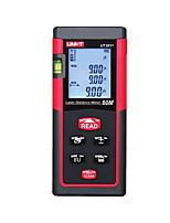 Uni-t ut391 medidor de distância digital portátil de 60m com distância&Medição de ângulo
