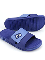 Men's Slippers & Flip-Flops Spring Comfort Rubber Casual Blushing Pink Navy Blue Black