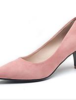Femme-Bureau & Travail Habillé Soirée & Evénement--Talon Aiguille-Confort club de Chaussures-Chaussures à Talons-Laine synthétique