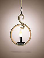 The Chandelier Rope Creative Personality Bar Cafe American Retro Small Chandelier Lamp