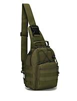 Outdoor Riding Shoulder Bag Military Fans Color Tactic Chest Bag Outdoor Mountain Climbing Portable Bag Bag