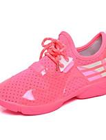 Women's Sneakers Spring Comfort PU Casual Flat Heel Lace-up Walking