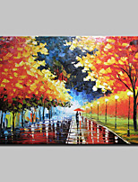 Hand Painted Modern Abstract Landscape Oil Painting On Canvas Wall Art Pictures For Home Decoration Ready To Hang