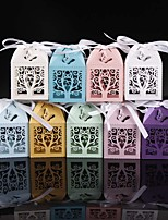 50pcs/lots Love Tree and 3D Butterfly Wedding Favors Box Party Favors Candy Box Gift Box Party Supplies