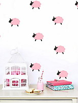 Animales Pegatinas de pared Calcomanías de Aviones para Pared Calcomanías Decorativas de Pared,Vinilo Material Decoración hogareñaVinilos