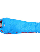 Sleeping Bag Mummy Bag Single -3 -17 -30 T/C Cotton 205X80 Camping Moistureproof/Moisture Permeability Keep Warm 自由之舟骆驼