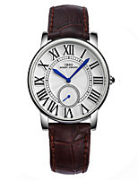 Women's Fashion Watch Quartz Genuine Leather Band Red Brown Green Purple