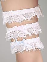 Garter Lace Ribbon Ivory