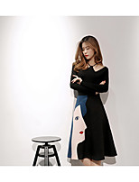 Women's Going out Sexy All Seasons Blazer Dress Suits,Solid Off Shoulder Long Sleeve Cotton