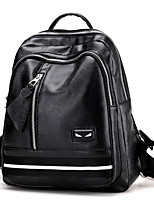 Women PU Sports Casual Office & Career Shopping Backpack All Seasons