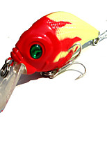 1 pcs Crank Fishing Lures Crank yellow shad g/Ounce,60 mm/2-3/8