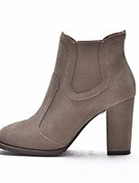 Women's Heels Spring Comfort PU Nappa Leather Casual