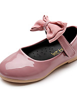 Girls' Oxfords Spring Summer Comfort Flower Girl Shoes PU Party & Evening Dress Casual Flat Heel Magic Tape