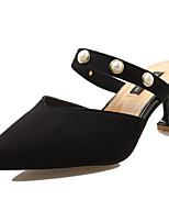 Women's Sandals Summer Comfort PU Outdoor Low Heel Walking