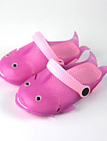 Girls' Sandals Fish Shape Cute Sandals Beach Shoes Comfort Polyester Spring Summer Outdoor Athletic Casual Flat Heel Blushing Pink Blue Green Flat